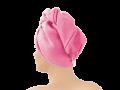 Haarturban Pink 9317 auch als Tuch erhältlich