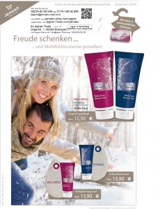 jemako_sonderaktion_Weihnachten_2014_Wellness+Fitness=9496+9498+9494=Waschtropfen (Öse in blau oder pink/magenta)und Showergel (2 Düfte, Wellness+Fitness)