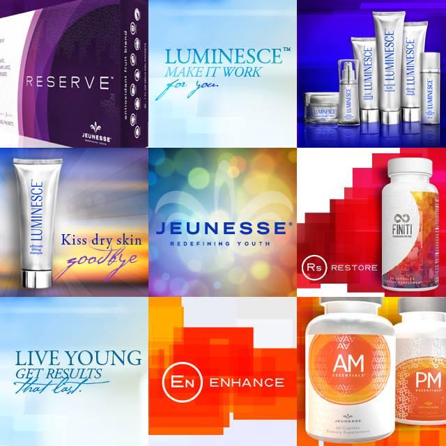 Jeunesse Produktauswahl Stammzellentechnologie